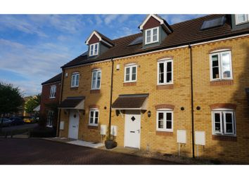 Thumbnail 3 bed end terrace house for sale in The Farrows, Maidstone