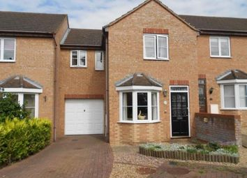 Thumbnail 3 bed terraced house for sale in Odin Close, Bedford, Bedfordshire