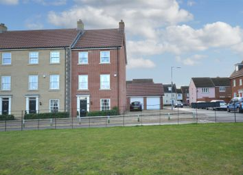 Thumbnail 5 bed town house for sale in Lord Nelson Drive, New Costessey, Norwich