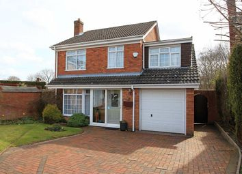 Thumbnail 4 bed detached house for sale in Squires Close, Madeley, Telford
