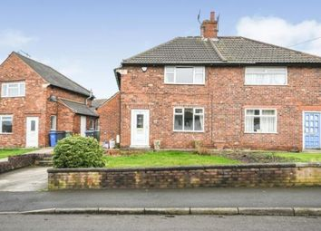 Thumbnail 3 bed semi-detached house for sale in Laurel Crescent, Hollingwood, Chesterfield, Derbyshire