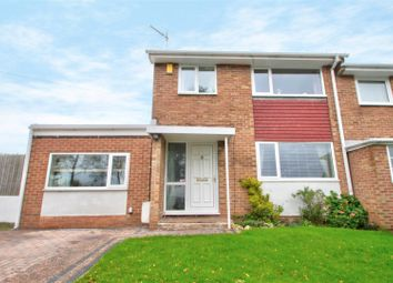 Thumbnail 4 bed semi-detached house for sale in Derwent Crescent, Arnold, Nottingham