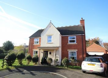 Thumbnail 4 bed detached house for sale in Oak Apple Drive, Wembdon, Bridgwater