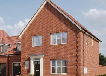 Thumbnail 3 bed link-detached house for sale in Hempstead Road, Holt