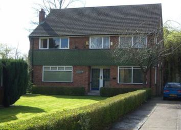 Thumbnail 3 bed flat to rent in Upper Park Road, Victoria Park, Manchester, Lancashire