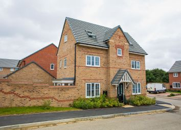 Thumbnail 4 bedroom detached house for sale in Aspen Road, Brixworth, Northampton
