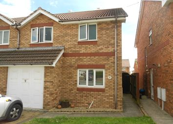 Thumbnail 3 bed semi-detached house to rent in St. David's Way, Porthcawl