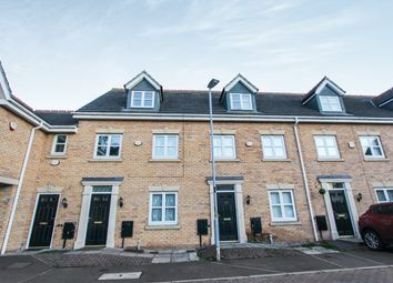 Thumbnail 3 bed town house for sale in Riseholme Close, Leicester