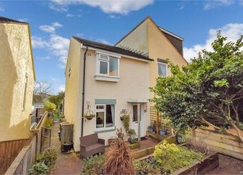 Thumbnail 3 bedroom semi-detached house for sale in Spring Close, Bradley Valley, Newton Abbot, Devon.