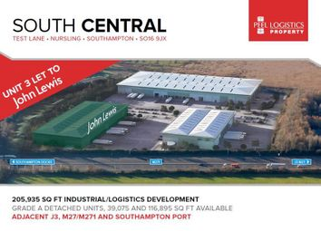 Thumbnail Warehouse to let in Unit 2 South Central, Test Lane South, Nursling, Southampton, Hampshire