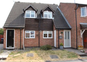 Thumbnail 2 bed town house for sale in Darwin Close, Broughton Astley, Leicester