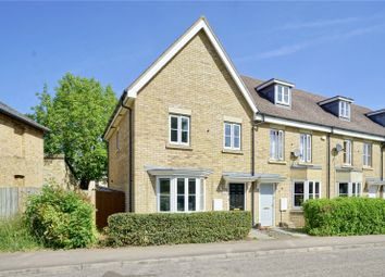 Thumbnail 3 bed end terrace house for sale in North Lodge Drive, Papworth Everard, Cambridge, Cambridgeshire