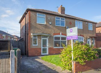 Thumbnail 3 bedroom semi-detached house for sale in Longfield Road, Bolton, Greater Manchester.