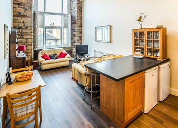 Thumbnail 2 bed flat for sale in Savile Street, Milnsbridge, Huddersfield