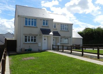 Thumbnail 3 bed semi-detached house to rent in St Peters Road, Johnston, Pembrokeshire