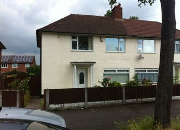Thumbnail 3 bed semi-detached house to rent in Witton Lodge Road, Erdington