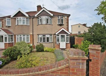 Thumbnail 3 bed semi-detached house for sale in Crossmead Avenue, Greenford