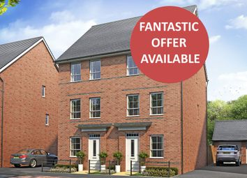 "Thumbnail 4 bed semi-detached house for sale in ""Faversham"" at Weddington Road, Nuneaton"