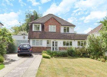 Thumbnail 4 bed detached house for sale in Cuddington Way, Cheam, Sutton