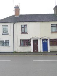 Thumbnail 2 bed terraced house to rent in Weston Road, Stafford