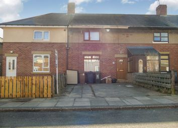 Thumbnail 2 bed terraced house for sale in Myrtle Crescent, Forest Hall, Newcastle Upon Tyne
