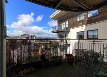 Thumbnail 1 bed flat to rent in Alexandria, Victoria Wharf, Watkiss Way, Cardiff Bay