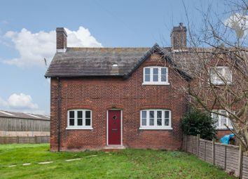 Thumbnail 2 bed end terrace house to rent in Abridge Road, Abridge, Essex