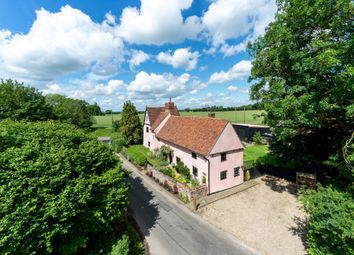 Thumbnail 4 bed detached house for sale in Taylors Lane, Naughton, Ipswich