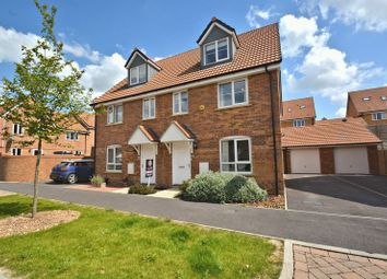 Thumbnail 4 bed semi-detached house for sale in Raven Road, Didcot