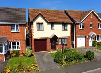 Thumbnail 4 bed detached house for sale in Round Table Meet, Beacon Heath, Exeter, Devon
