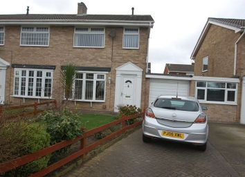 Thumbnail 3 bed semi-detached house for sale in Wolsingham Drive, Thornaby, Stockton-On-Tees
