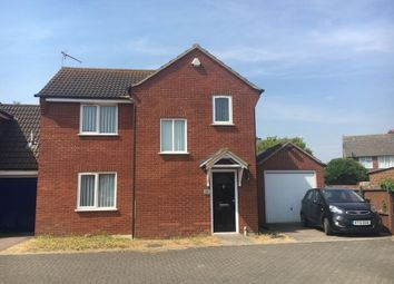 Thumbnail 3 bed detached house to rent in Clapgate Lane, Ipswich
