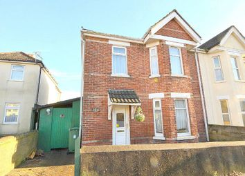 Thumbnail 3 bedroom semi-detached house for sale in Churchill Road, Parkstone, Poole