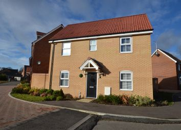 Thumbnail 3 bed detached house for sale in Elizabeth Way, Costessey, Norwich