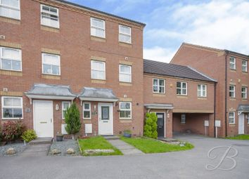 Thumbnail 4 bed town house for sale in Dunsil Close, Mansfield Woodhouse, Mansfield