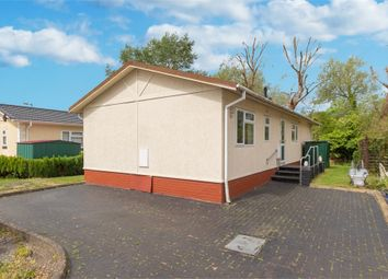 Thumbnail 2 bed mobile/park home for sale in Mayfield Park, Thorney Mill Road, West Drayton, Middlesex