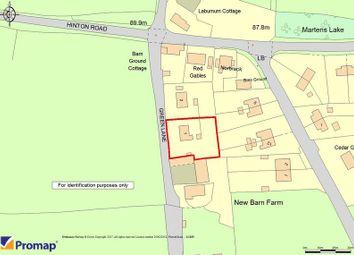Thumbnail Land for sale in Green Lane, Longworth, Abingdon