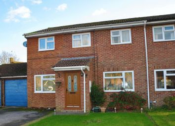 Thumbnail 4 bed semi-detached house for sale in Maple Crescent, Ludgershall, Andover