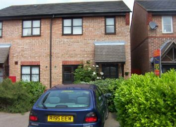 Thumbnail 2 bed detached house to rent in Coalport Close, Newhall, Harlow
