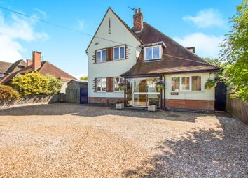 Thumbnail 4 bed detached house for sale in Marydene Drive, Evington, Leicester