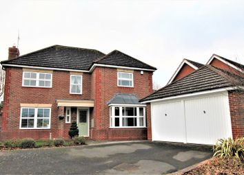 Thumbnail 4 bed detached house for sale in Wadkins Way, Bushby, Leicester