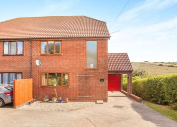 Thumbnail 3 bedroom semi-detached house for sale in Stonehall Road, Lydden, Dover, Kent