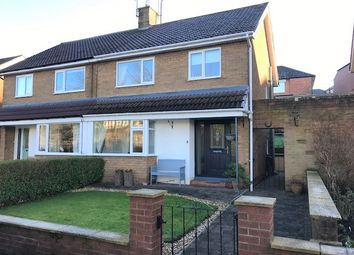 Thumbnail 3 bed semi-detached house to rent in Churchill Close, Shotley Bridge