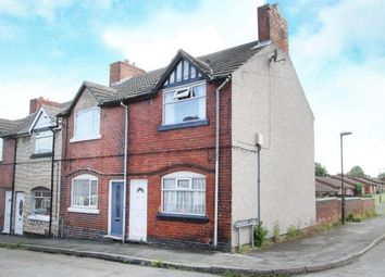 Thumbnail 2 bed end terrace house for sale in Hunloke Road, Holmewood, Chesterfield, Derbyshire