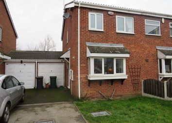 Thumbnail 2 bed semi-detached house to rent in Crossley Close, Maltby, Rotherham