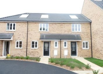 Thumbnail 2 bed terraced house to rent in Cutters Close, Beck Row