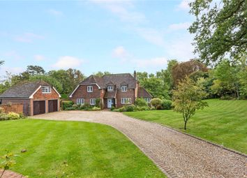Thumbnail 5 bed detached house for sale in Burchetts Green Road, Littlewick Green, Maidenhead, Berkshire