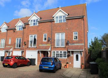 Thumbnail 3 bed end terrace house for sale in Cabot Close, Eastbourne