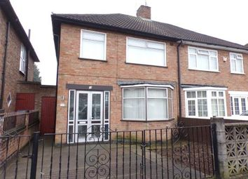 Thumbnail 3 bed semi-detached house for sale in Lydford Road, Leicester, Leicestershire, England