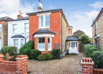 Thumbnail 3 bed detached house for sale in Beauchamp Road, West Molesey